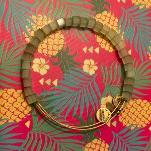Alex and ani green bracelet